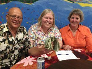 Winning pub quiz team Chuck Gauthier, Karen Stewart and JIll McCready. Photo: Cary Evarts.