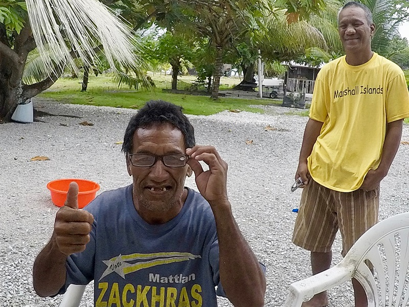 Cruisers Donate Eye Glasses